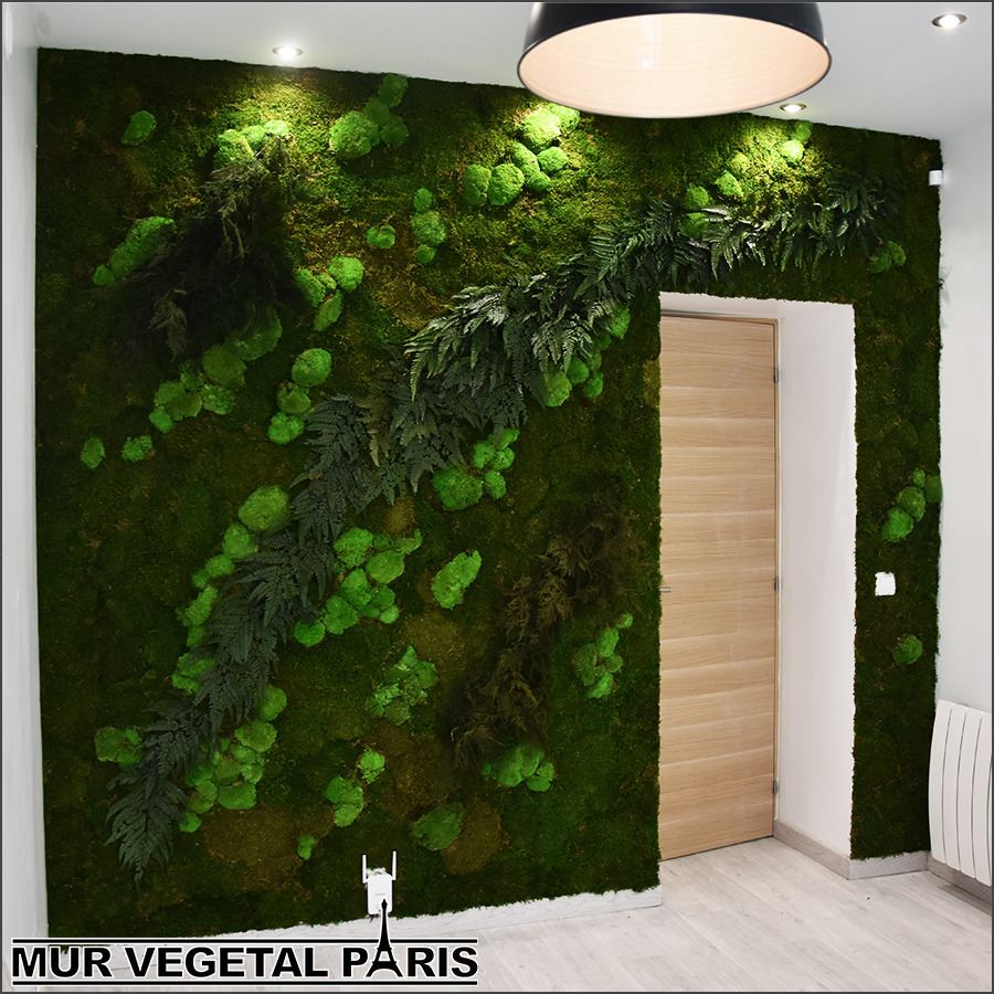mur v g tal int rieur mur v g tal paris. Black Bedroom Furniture Sets. Home Design Ideas