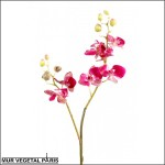 Phalaenopsis medium rose artificielle