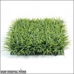 Plaque d'herbe artificielle