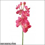 Vanda artificielle rose sur tige
