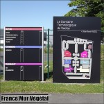 Showroom France Mur végétal Saclay