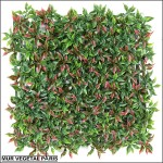 Plaque de ruscus artificiel 50x50cm