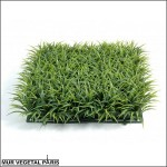 Plaque d'herbe artificielle 25.5x25.5cm