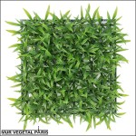 Plaque d'herbe large artificielle 25.5x25.5cm